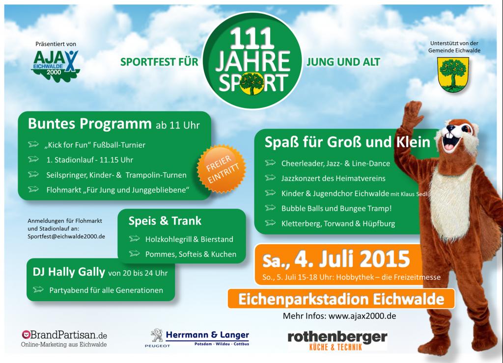 111 Jahre Sport in Eichwalde
